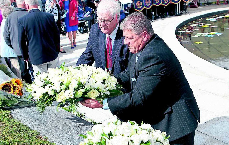 Ceremony marks 15th anniversary of Omagh bombing