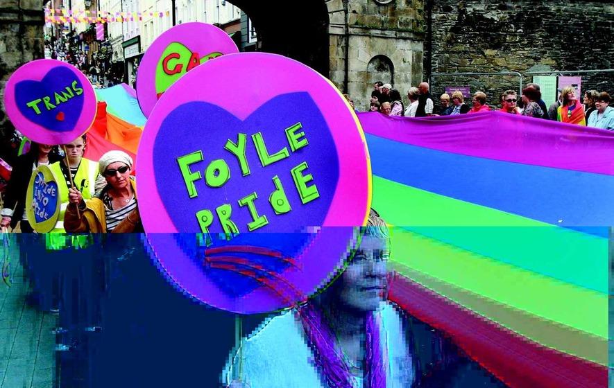 Pride parade's 20th anniversary