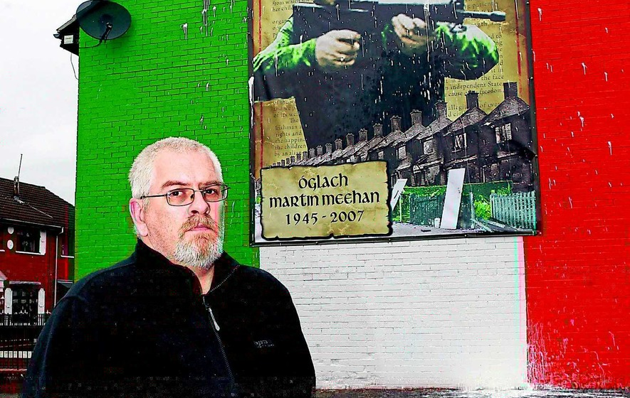 Meehan mural attacked