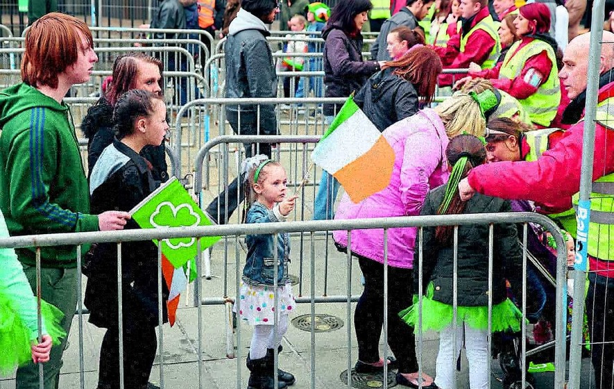 City goes back to future for St Patrick's festivities