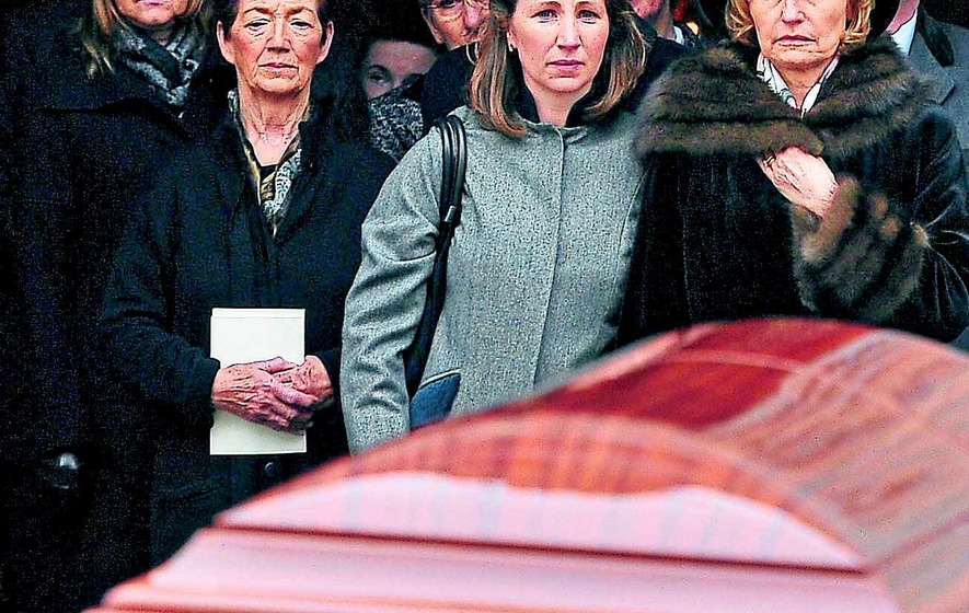 Haughey death 'a huge loss' mourners told