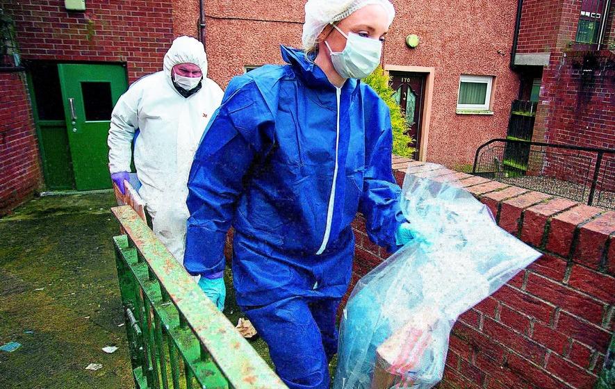 Covert officers believed to be behind mortar seizure