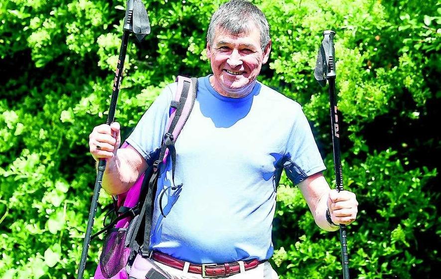 Ex-Down GAA boss prepares for gruelling Camino Way walk