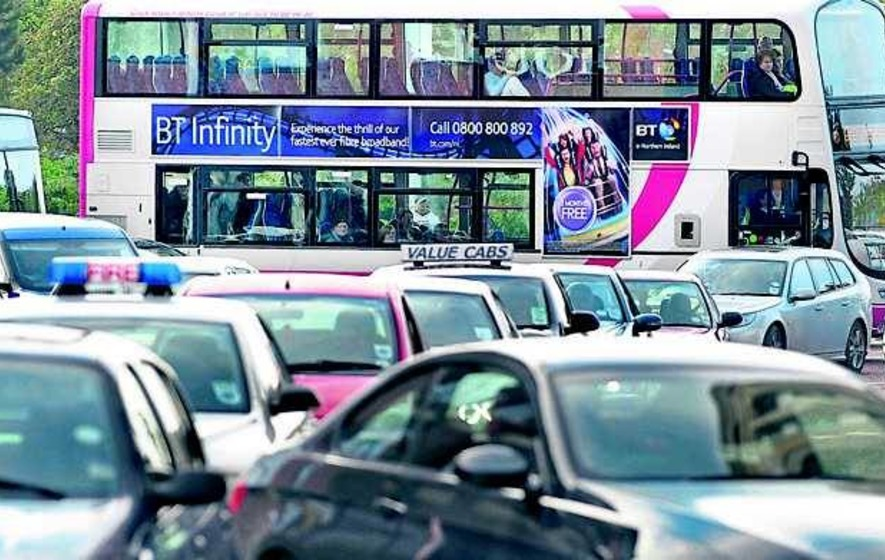 Traffic congestion 'worse' in Belfast than in London