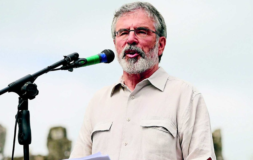 Adams says unionists failing to take a positive approach