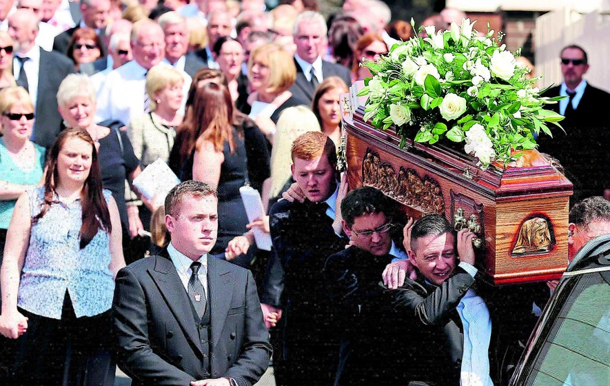 Respects paid to father of Hunger Striker Sands