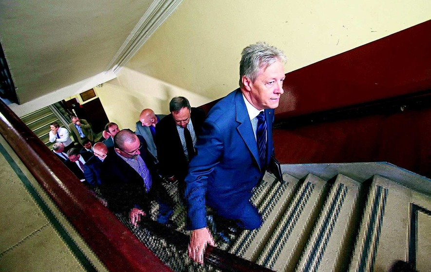 Unionists and order outline 'graduated response' details