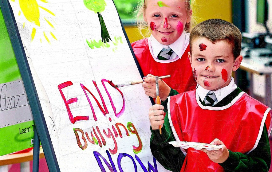Children urged to get creative to end bullying