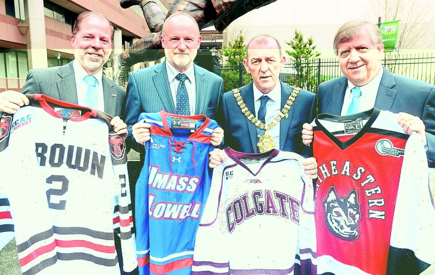 Top US ice hockey college tournament Belfast-bound