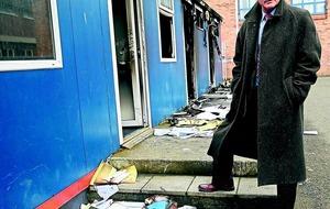 Arson attack on school 'wanton destruction'