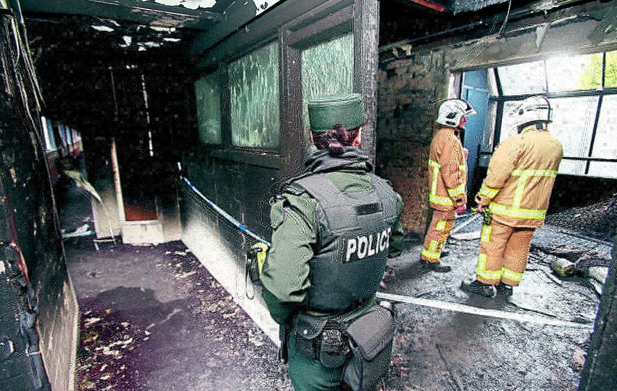 Residents 'lucky to be alive' after fire tears through flats