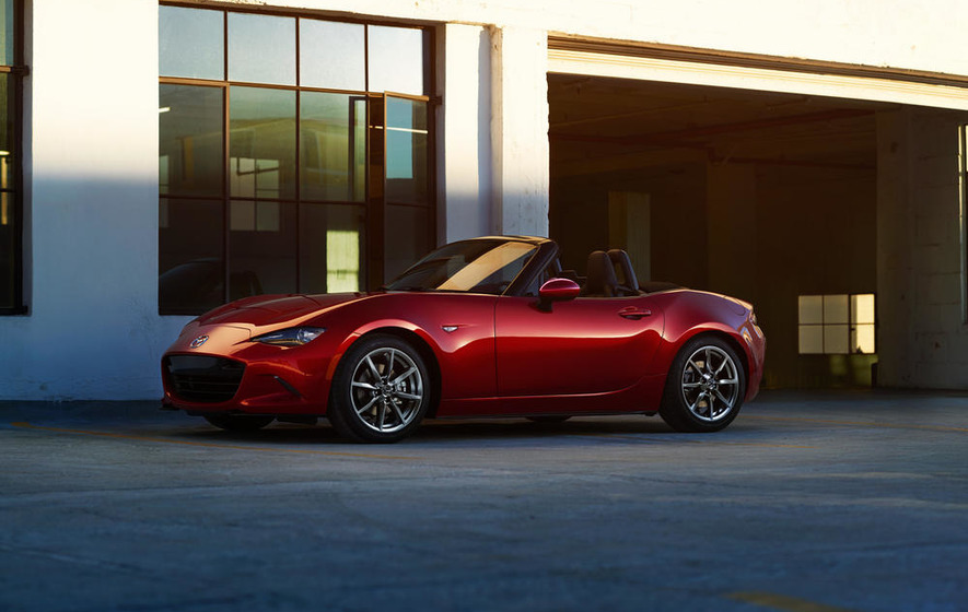 Mazda MX-5: a classic roadster with added purity
