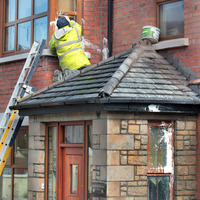 Paint attack on deputy first minister's home