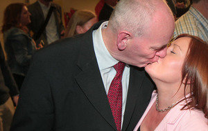 Euphoric SDLP celebrate Durkan victory in Derry