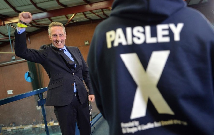 Paisley storms to victory in North Antrim