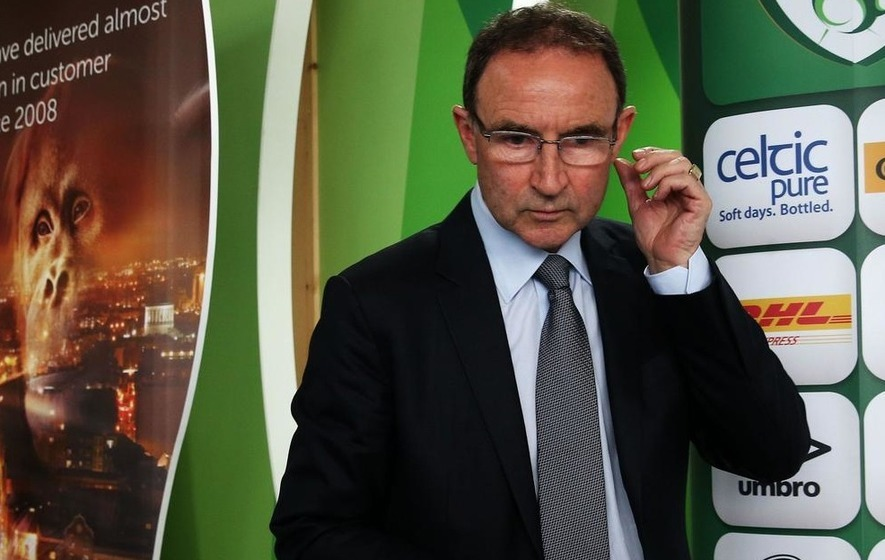O'Neill denies putting pressure on Grealish to declare allegiance