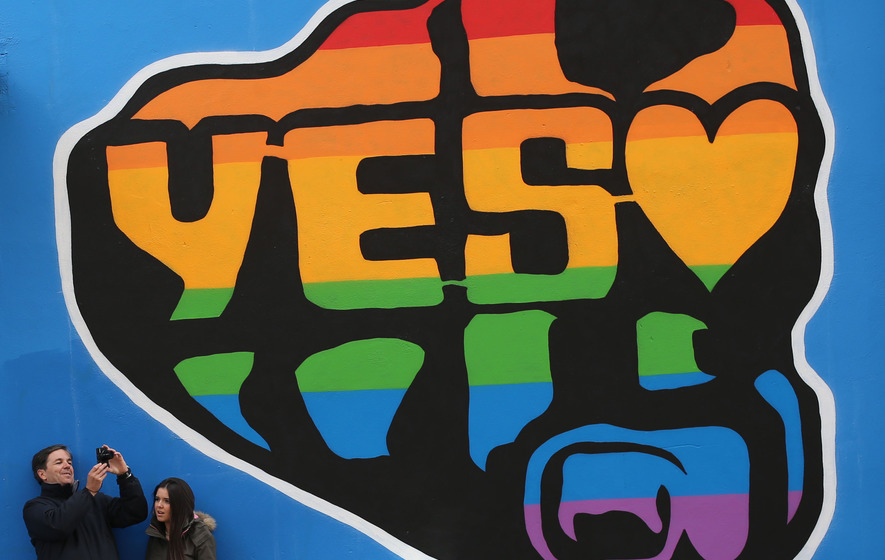 Poll: Yes vote falls ahead of marriage referendum