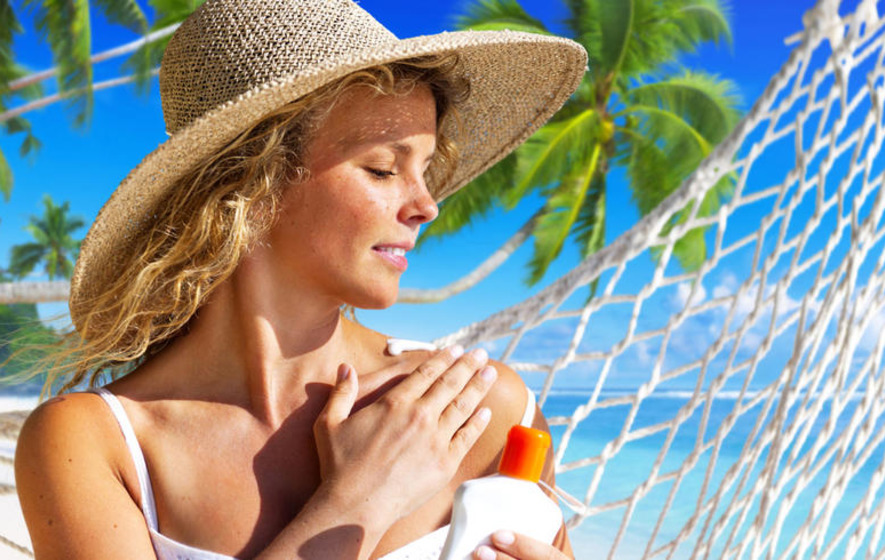 Here comes summer... and the sunscreens that shine