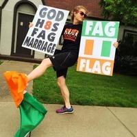 "American church members label tricolour the ""fag flag"""