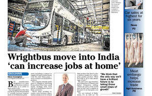 Wrightbus Indian factory will support Ballymena staff