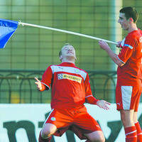 Goal-getter Boyce delighted with NI return