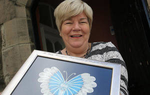 West Belfast woman honoured with 'Peacemaker of the Year' award