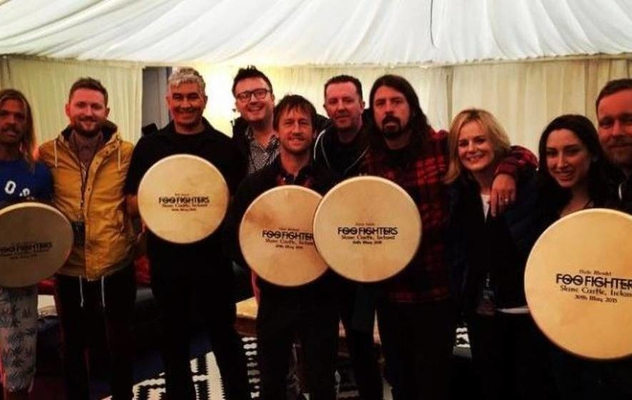 Rockers Foo Fighters reign in the rain at Slane