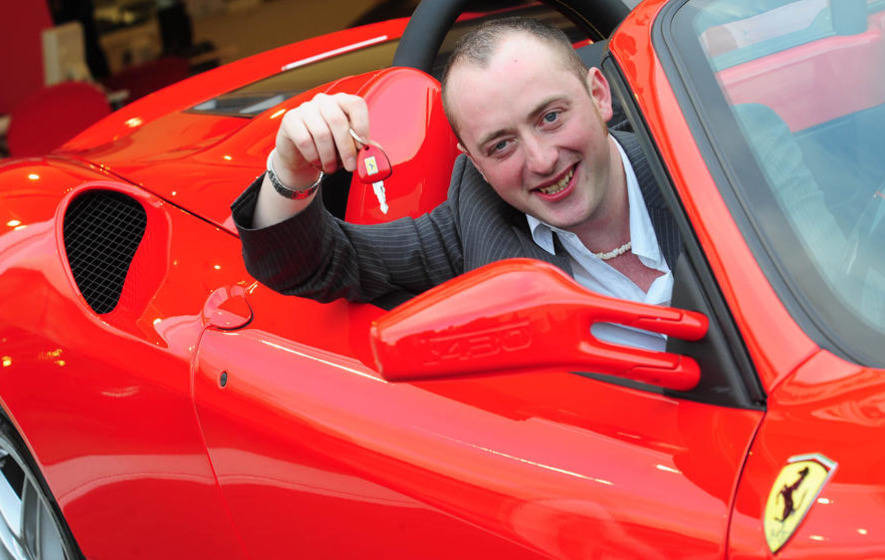 Former lottery millionaire handed new driving ban