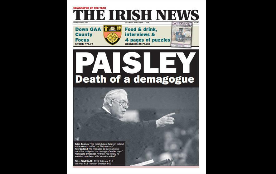 Irish News nominated for raft of awards
