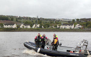 Kayakers rescued from River Foyle