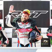 Dunlop crash drama as Anstey takes TT win