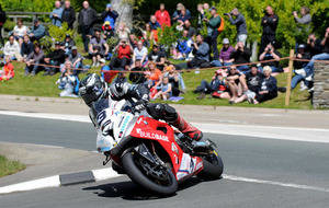 Dunlop crash drama as Anstey takes TT win