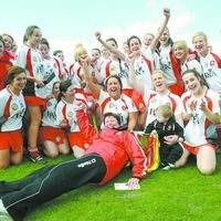 Derry retain Ulster camogie title after flurry of late goals