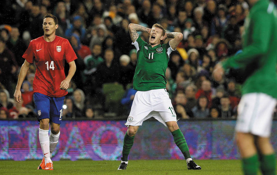 McClean: Ireland will go out with all guns blazing for Scots