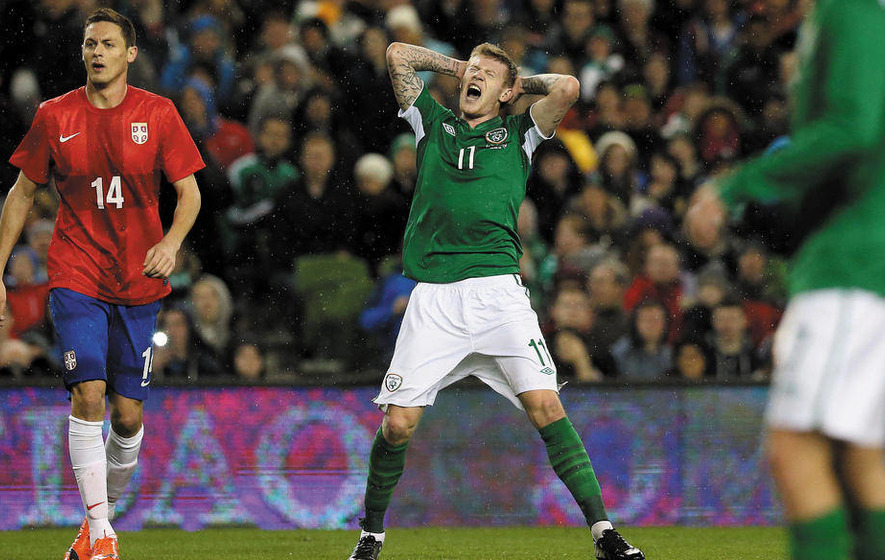 McClean: Ireland will go out all guns blazing for Scots