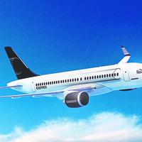 Bombardier debuts CSeries at Paris Air Show
