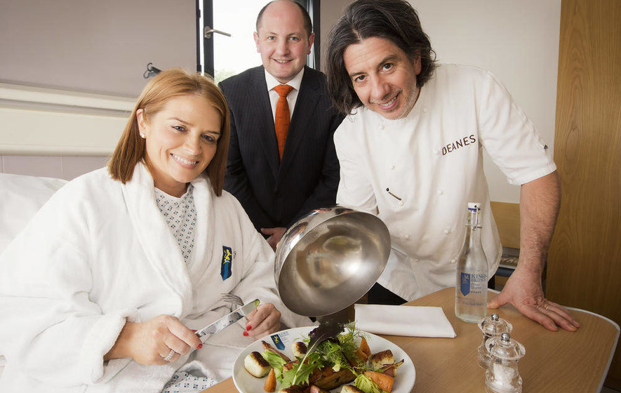 Excellence on a plate for patients at Kingsbridge hospital