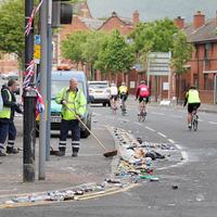 Belfast parade attack victim leaves hospital