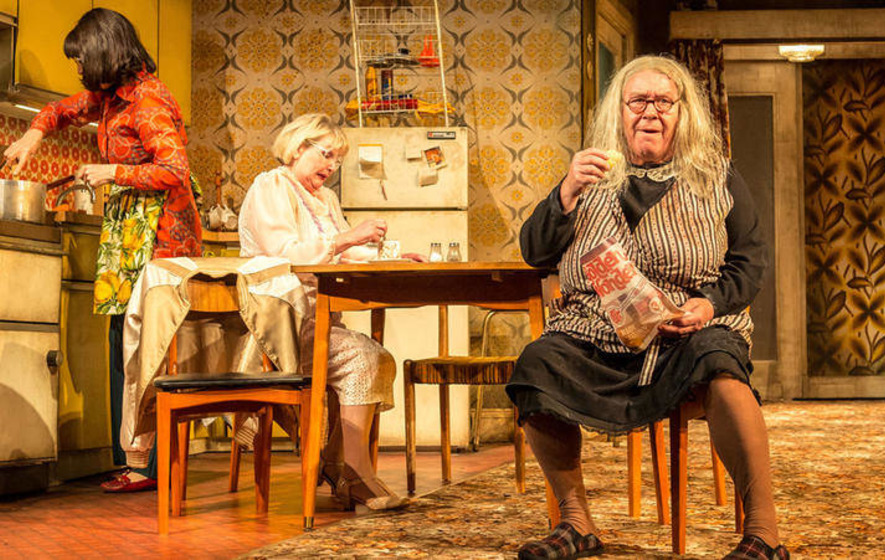 Argentinian stage adaptation like a Scottish Mrs Brown