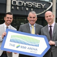 Energy giant SSE secures naming rights at Odyssey Arena