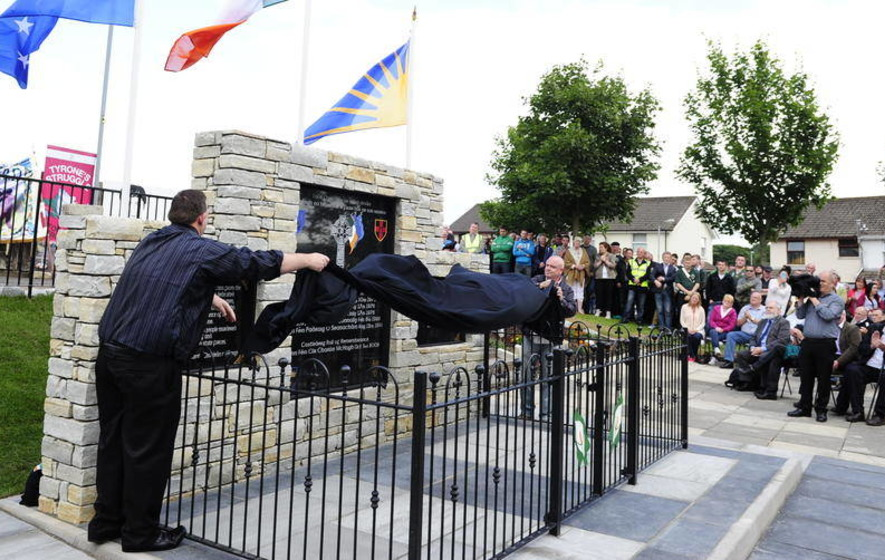 Castlederg memorial still being investigated two years on