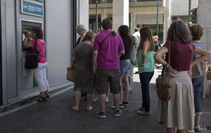 Greece teetering on brink of financial meltdown after missing payment