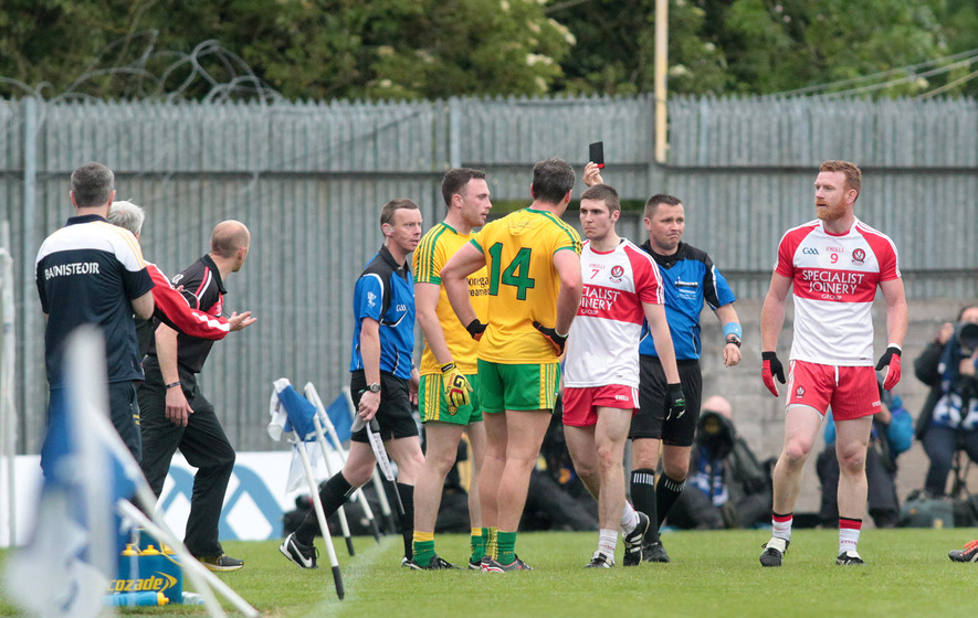 Derry duo Johnston and McFaul look set to miss Wexford clash