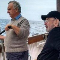 Neil Diamond goes fishing off coast of Co Down