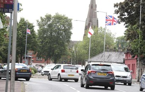 Loyalists claim police consulted before flags erected