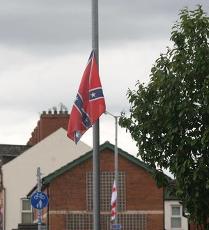 """Police say flying Confederate flag a """"hate incident"""""""