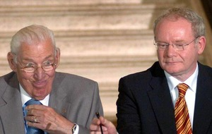 Spall for Ian Paisley film – but who to play McGuinness?