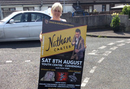 Anger after Nathan Carter posters removed