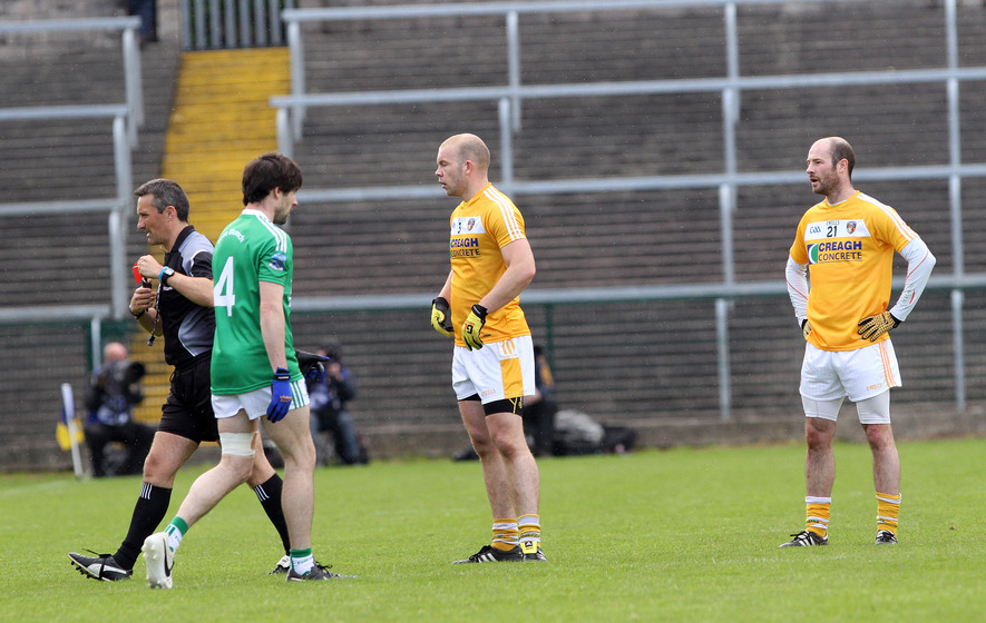 Fitzsimons rings the changes for Antrim's return to Brewster