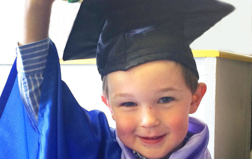 Not a dry eye in the house for playgroup graduation